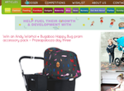 Win an Andy Warhol + Bugaboo Happy Bug pram accessory pack