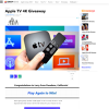 Win an Apple TV 4K