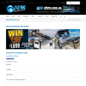Win an ARB 60L Fridge/Freezer