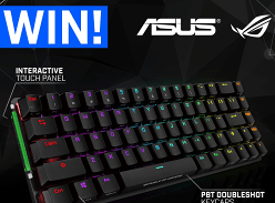 Win an ASUS ROG Falchion RGB Compact Wireless Mech Keyboard