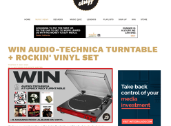 Win an Audio-Technica Turntable & Vinyl Pack