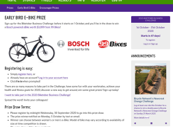 Win an Bosch Powered Ebike