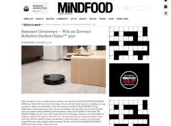 Win an Ecovacs Robotics Deebot Ozmo™ 930
