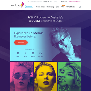 Ventraip win an ed sheeran vip corporate box experience for 2 win an ed sheeran vip corporate box experience for 2 m4hsunfo