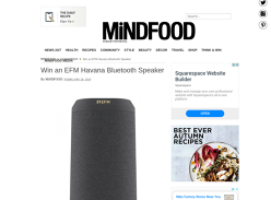 Win an EFM Havana Bluetooth Speaker!