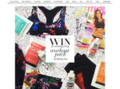 Win an energising work out pack!