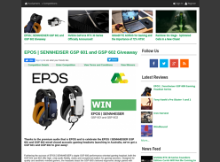 Win an EPOS | SENNHEISER GSP 601 or GSP 602 Premium Gaming Headset