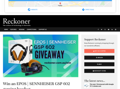 Win an EPOS | Sennheiser GSP 602 Gaming Headset