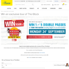 Win an exclusive tour of The Block