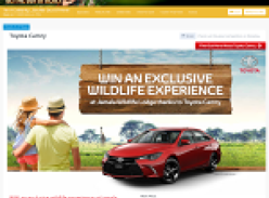 Win an exclusive wildlife experience at Jamala Wildlife Lodge!