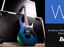 Win an Ibanez RG Electric Guitar