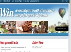Win an indulgent South Australian escape for you & 3 friends!