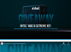 Win an Intel Ghost Canyon NUC