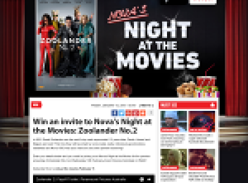 Win an invite to Nova's Night at the Movies: Zoolander No.2