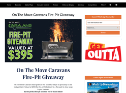 Win an 'On The Move Caravans' Fire-Pit