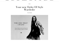 Win an 'Order of Style' wardrobe, valued at $1,500!