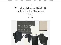 Win an Organised Life gift pack worth $385!