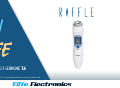 Win an Oricom NFS100 Infrared Forehead Thermometer