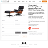Win an original  Eames Lounge Chair and Ottoman valued at over $9,100