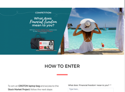 Win an Oroton Laptop Bag and Access to The Stock Market Project