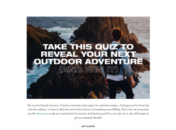 Win an Outdoor Adventure in Victoria for 2