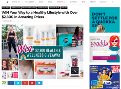 Win BIG In Our Health & Wellness Giveaway