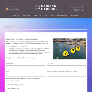Win Big this Summer at Darling Harbour