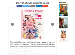 Win Copies of Diary of a Crap Housewife