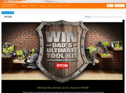 Win dad's ultimate toolkit thanks to Ryobi!