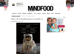 Win Double Movie Tix to Apollo 11