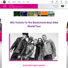 Win Double Tix to the Backstreet Boys