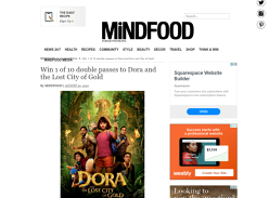 Win Family Movie Tix to Dora
