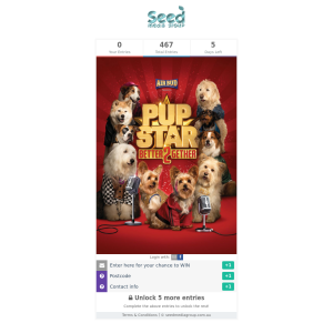 Win family pass to 'Pup Star: Better 2Gether'