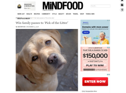 Win family passes to 'Pick of the Litter'