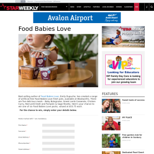 Win Food Babies Love pack