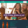 Win Friday drinks on us