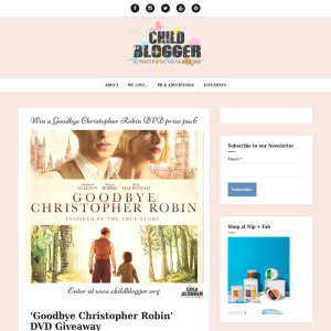 Win Goodbye Christopher Robin DVD prize packs