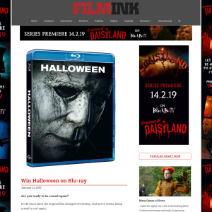 Film Ink - Win Halloween on Blu-ray - Competitions com au