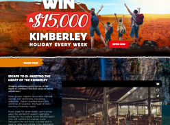 Win  Holidays to The Kimberley or $100 Big4 Holiday Vouchers
