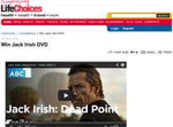 Win Jack Irish DVD