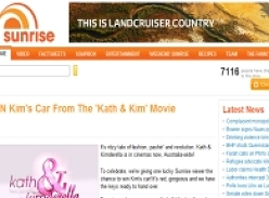 Win Kim's Car From The 'Kath & Kim' Movie!