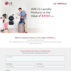 Win LG Laundry Products