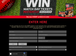 Win match day tickets instantly! (Purchase Required)