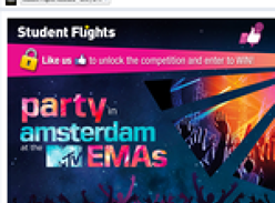 Win money can't buy tickets to the MTV Europe Music Awards