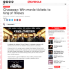 Win movie tickets to King of Thieves