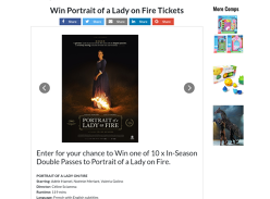 Win Movie Tix to Portrait of a Lady