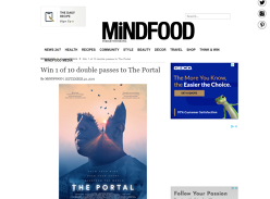 Win Movie Tix to The Portal