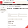 Win music festival tickets!