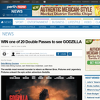 Win one of 20 Double Passes to see Godzilla