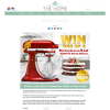 Win one of 3 KitchenAid KSM170 Stand Mixers